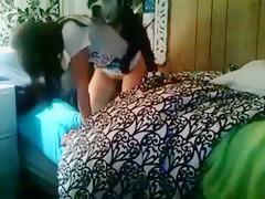 Dándole duro al perrito